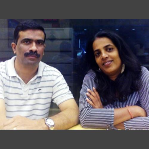 Pratibha & Manoj Kumar